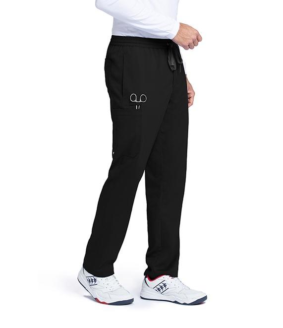Men's 5 Pocket Elastic Waist Cargo Pant