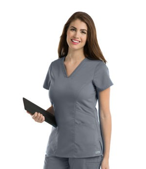 3 Pocket Marquis-Style V-Neck Top