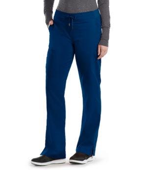 6 Pocket Mid-Rise Shaped Leg Cargo Pant