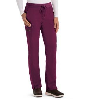 3 Pocket Mid-Rise Straight Leg Cargo Pant